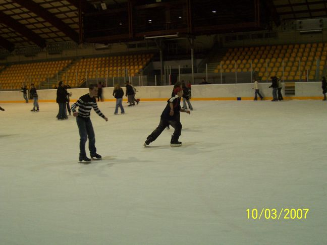 LUXEMBOURG (GDL), Patinoire