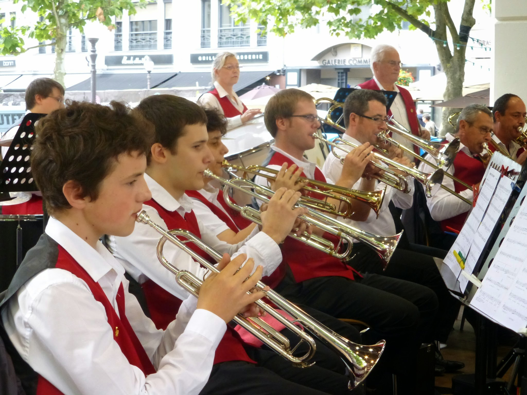 LUXEMBOURG,  Concert (Place d'Armes)