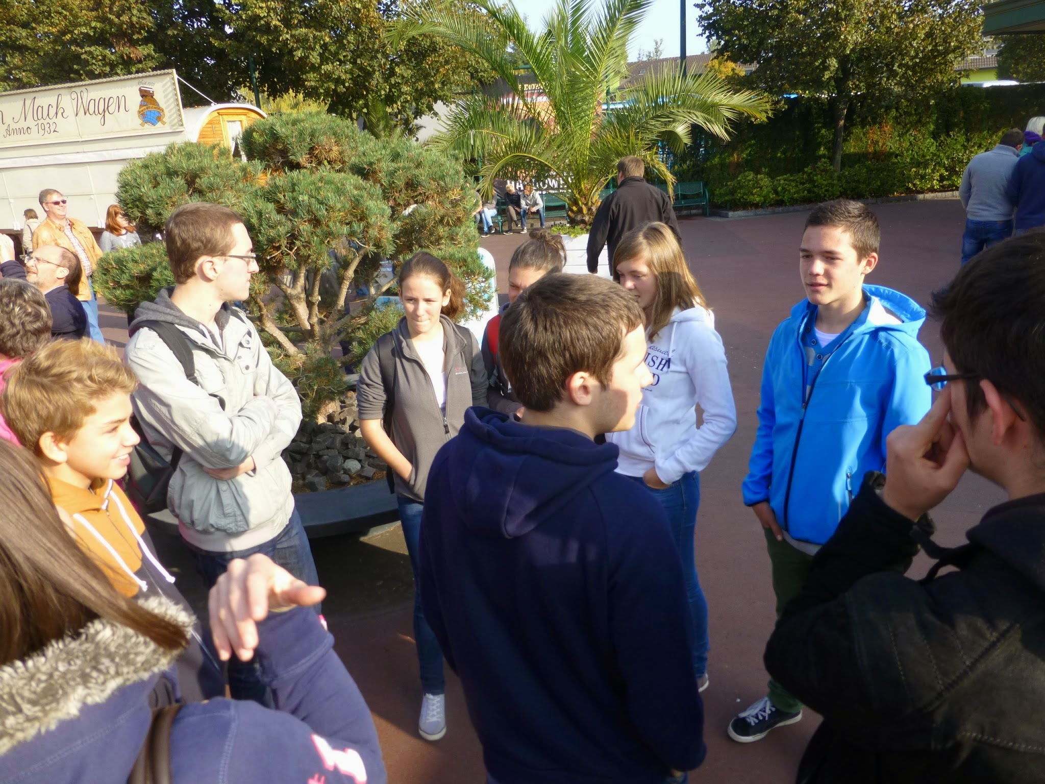 EUROPAPARK , Rust (DE),  Excursion
